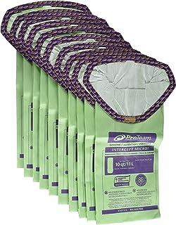ProTeam Paper Bag, 10Qt Intercept 10 Pack Super Coach Pro 10