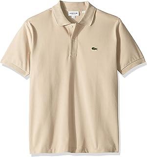 Lacoste Short Sleeve Pique L.12.12 Classic Fit Polo Shirt, L1212, Napolitan Yellow, X-Large