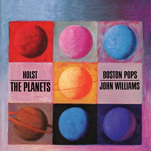 Holst: The Planets by Boston Pops Orchestra & John Williams on Amazon Music  - Amazon.com