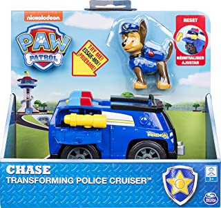 Paw Patrol, Chase's Transforming Police Cruiser with Flip-Open Megaphone, For Ages 3 & Up