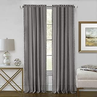 Achim Home Furnishings Achim Home Imports Wallace Rod Pocket Window Curtain Panel, 52