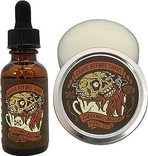 GRAVE BEFORE SHAVE™ Caramel Mocha Beard Pack (Caramel Mocha Coffee Scented)