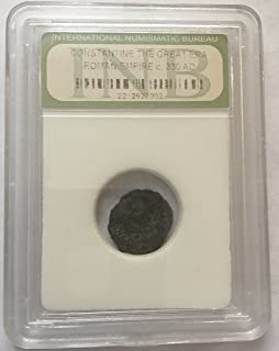 1 Ancient Coin Roman Empire Constantine the Great Condition Cleaned