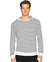 Vince - Striped Pullover Hoodie