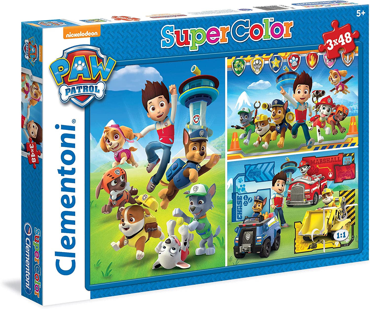 Clementoni 25209 Paw Patrol New Free Shipping Cheap bargain Supercolor for 4 x Puzzle Children-3