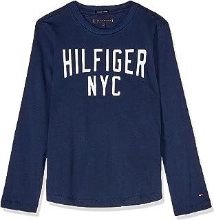 TOMMY HILFIGER Kids Long Sleeve Logo T-Shirt
