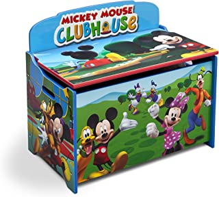 Delta Children Deluxe Toy Box, Disney Mickey Mouse