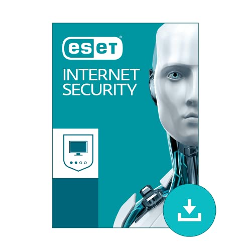 ESET Internet Security for Windows 2019 | 1 Device & 1 Year | Official Download with License