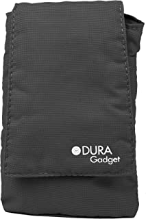 DURAGADGET Black Lightweight Cushioned Soft Carry Case - Suitable for Goodmans GDPRDAB Pocket DAB Radio