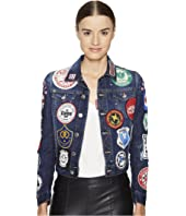 DSQUARED2 - Denim Multi Patch Jacket