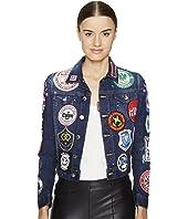 DSQUARED2 - Denim Multi Patch Jacket