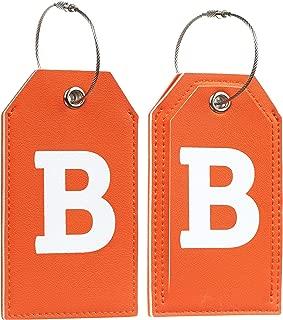 letter bag tags