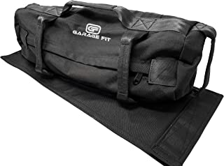 Sandbags for Fitness with Fabric Handles- Weighted Power Training- Heavy Duty Cordura Construction- 8 Gripping Handles- Adjustable Exercise Sandbags- Best Workout For Raw Power, Balance & Control