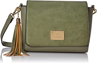 Van Heusen Woman Women's This Bag is Smooth Finished with Classy Look which Compliments Your Wardrobe (Green)