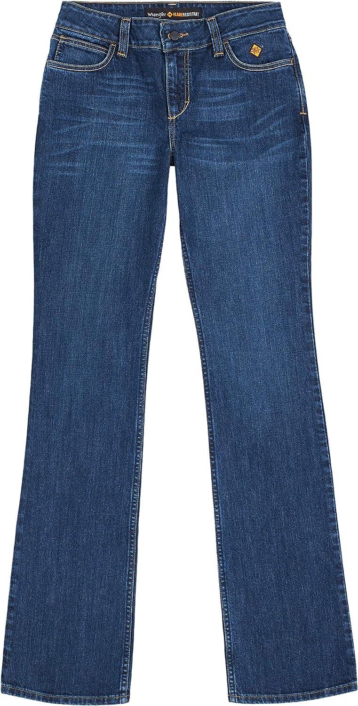 Wrangler Riggs Workwear Women's Fr Flame Resistant Retro Mae Boot Cut Jean