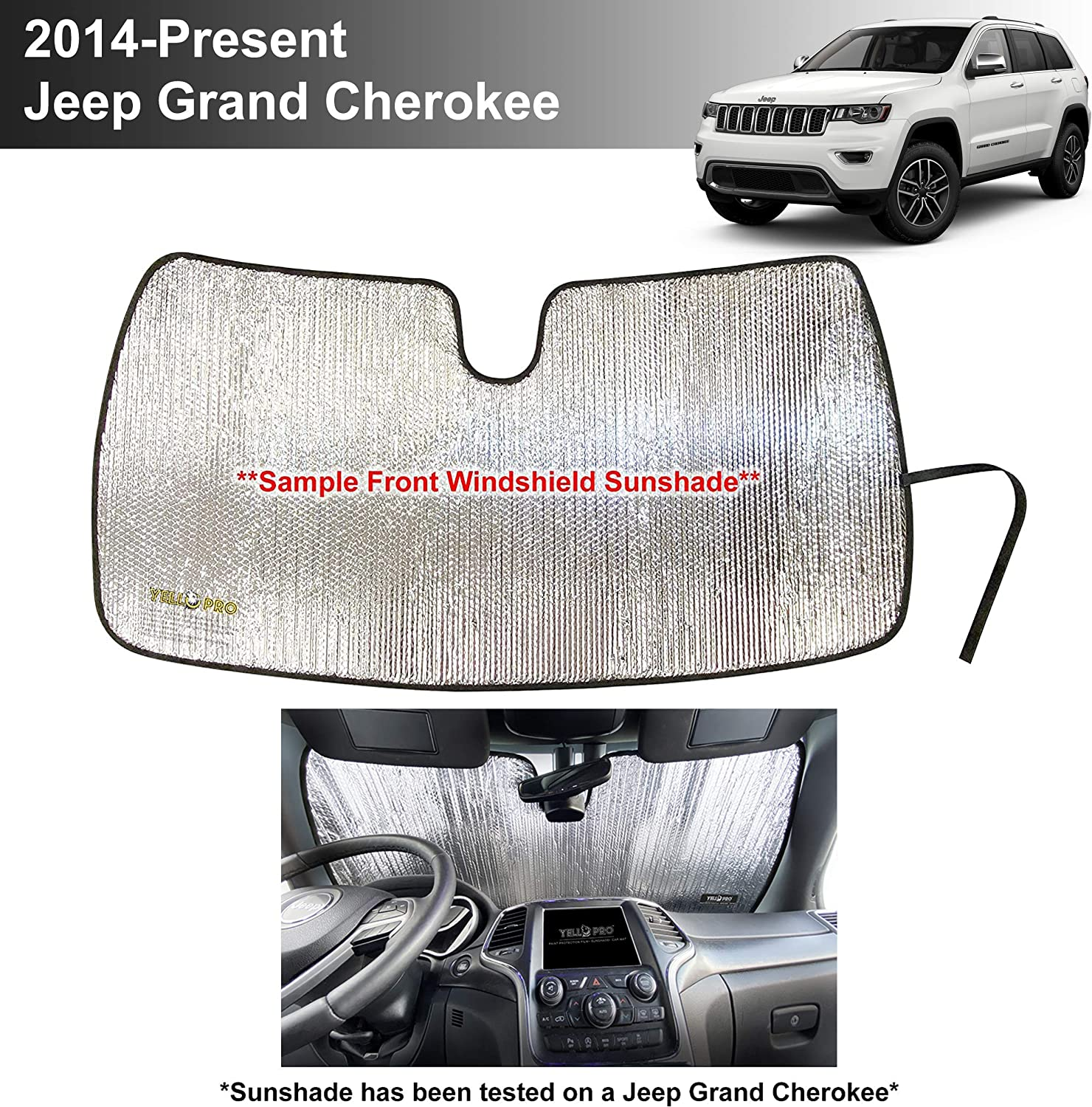 YelloPro Custom Fit Reflective Windshield Sunshade Accesso Front Max 88% National products OFF