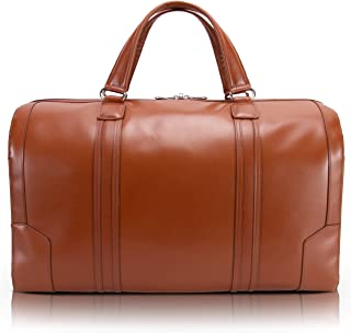 "McKlein USA L Series Kinzie 20"" Carry-all Leather Duffel"