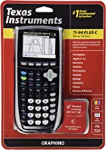 $199 » Texas Instruments TI-84 Plus C Silver Edition Graphing Calculator, Black (Renewed)