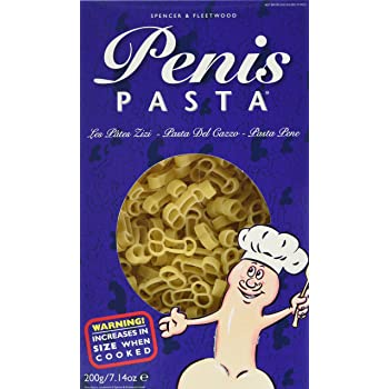 Gas Works Penis Shaped Pasta