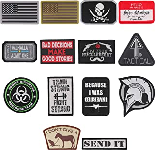military patch shapes