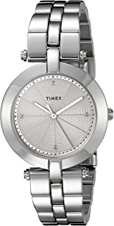 Women's TW2P79100AB City Collection Analog Display Quartz Silver Watch