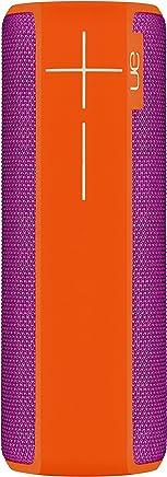 UE Boom 2 - Bocina bluetooth, a prueba de agua y golpes, color Naranja y Violeta