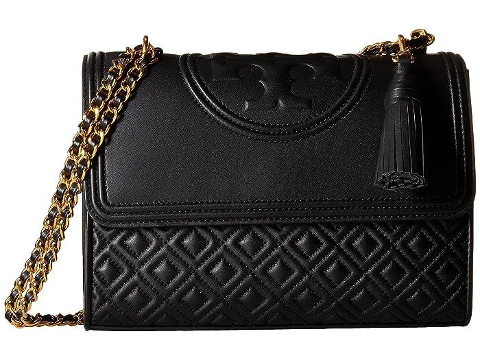 1d9698e02df4 Tory Burch Fleming Convertible Shoulder Bag at Zappos.com