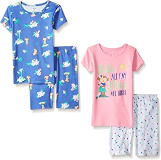 Carters Girls 4 Pc Cotton 391g088