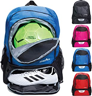 Athletico Youth Soccer Bag - Soccer Backpack & Bags for...