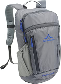 Small Travel Backpack Hiking Daypack 22L - Laptop Compartment Rain Cover