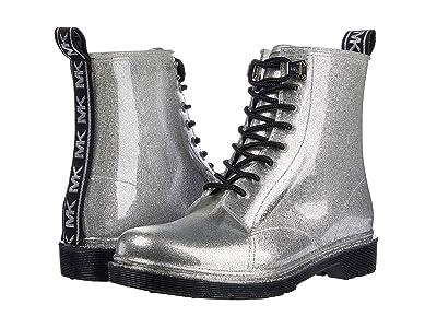MICHAEL Michael Kors Tavie Rain Bootie (Silver) Women