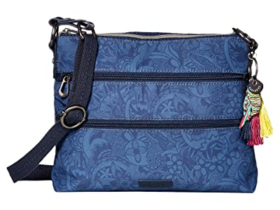 Sakroots Artist Circle Basic Crossbody (Indigo Spirit Desert) Cross Body Handbags