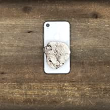 The Threaded Pear Natural Stone POP Phone Grips (White)