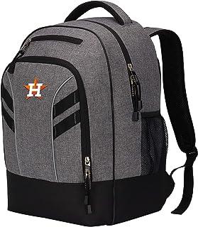 """MLB Houston Astros """"Razor"""" Backpack, Grey, 19 x 8 x 12"""