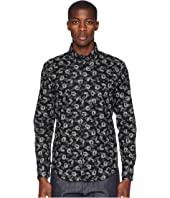 Naked & Famous - Regular Shirt Dragon Print