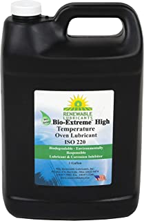Renewable Lubricants Bio-Extreme ISO 220 High Temperature Oven Lubricant, 1 Gallon Jug
