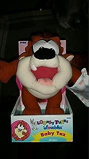 Looney Tunes Luvables Baby Taz plush