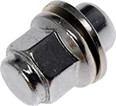 Dorman 611-117.40 Wheel Nut M12-1.50 Mag - 21mm Hex, 37mm Length for Select Models - Chrome, 40 Pack