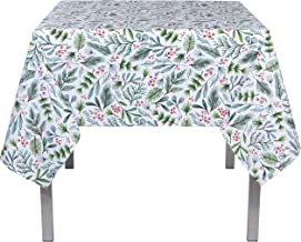 Now Designs 90 x 60 Inch Tablecloth, Bough & Berry Tablecloth, Multi