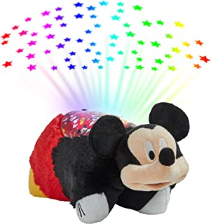 Pillow Pets Disney Mickey Mouse Sleeptime Lite Stuffed Animal Night Light