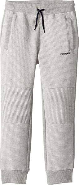 Converse Kids - Textured Knit Slim Joggers (Toddler/Little Kids)