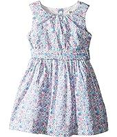Hatley Kids - Garden Floral Lined Party Dress (Toddler/Little Kids/Big Kids)