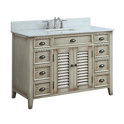 46 Inch Bathroom Vanity Amazon Com