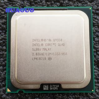 Intel Core 2 Quad Q9550 2,83 gHz 1333 mhz 12 MB Quad-core CPU procesador SLB8 V SLAWQ LGA 775