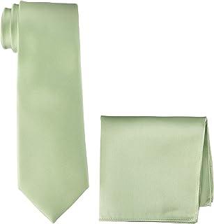 [ドレスコード101] ネクタイ チーフ 2点セット (安心の日本製) 結婚式 入学式 シルク100% 全17色 メンズ シルクネクタイ ハンカチ ポケットチーフ 無地 TIE-CF-SET-SILK