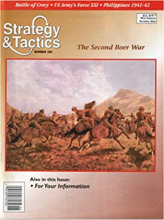 DG: Strategy & Tactics Magazine #205, with Boer War Board Game