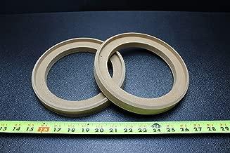 2 MDF Speaker Ring Spacer 6.5 INCH Wood I INCH Thick Fiberglass Box Ring-6.5GR