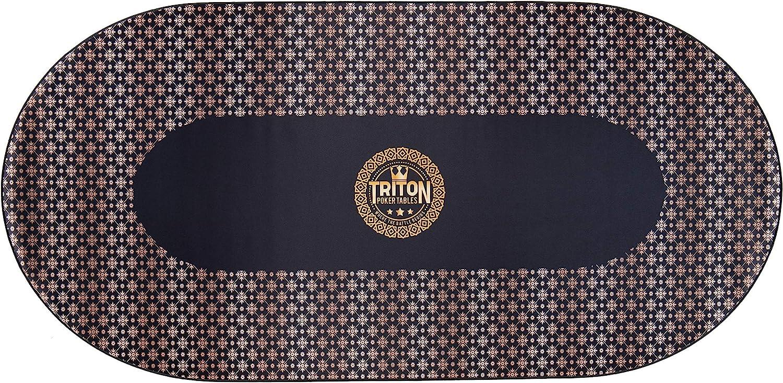 Triton Portable Poker Table Mat Multi-Spandex 10 Fabric Player - Fort Worth Tampa Mall Mall