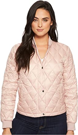 Diamond Quilted Shorter Bomber