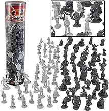 Humans Vs Aliens Space Monster Action Figure Toy Playset - Giant 90 pc Set w 16 Unique Futuristic Sculpts - Great for Party Favors, Decorations, Dioramas, etc